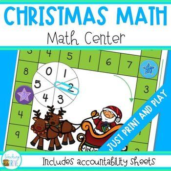 Christmas Math Center