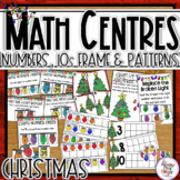 Christmas Math Center Activities - 12 different activities