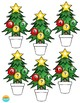 Christmas Math Center Game (Numbers 1-50)