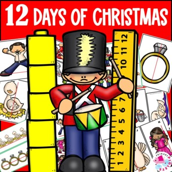 Christmas Math Center Measurement 12 Days of Christmas