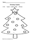 Christmas Math Center- doubles facts