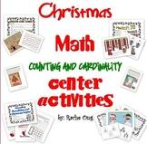 Christmas Math Center or File Folder Games for PreK/Kinder! Commoncore Aligned!