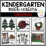 Christmas Kindergarten Math Centers