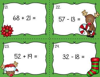Christmas Math Games for 2nd Grade