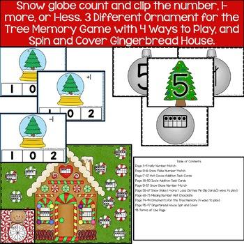 Christmas Math Centers
