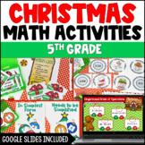 Christmas Math Activities | Digital Christmas Activities Distance Learning