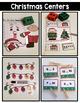 Christmas Math and Literacy Centers {Kindergarten}