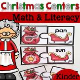 Christmas Math & Literacy Centers {Kindergarten}