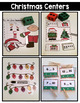 Christmas Math and Literacy Centers {Kindergarten}
