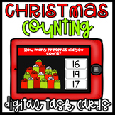 Christmas Math Centers- Counting Numbers 1-20 Digital Task Cards