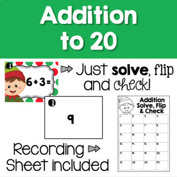 Christmas Math Centers - Task Cards BUNDLE!
