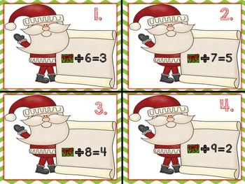 Christmas Math Centers! Third Grade!! Common Core!
