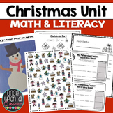 Christmas Math Centers and Literacy fun - Aligned with Common Core Standards
