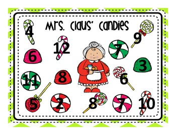 Christmas Math Centers and Supplemental Activities