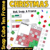 Christmas Math Centers and Ten Frames Activities