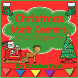 Christmas Math Centers for Kindergarten