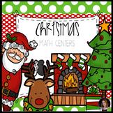 Christmas Math Centers {CCSS}
