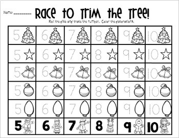 Christmas Math Centers {CCSS}