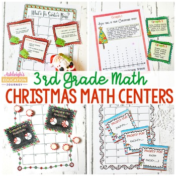 3rd Grade Christmas Math Centers