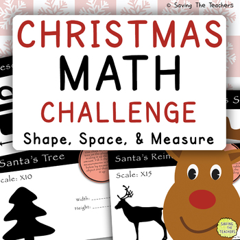 Christmas Math Challenge: Shape, Space, and Measure