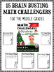 Christmas Math Challenge Activities