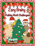 Christmas Math Challenges! Early Finishers Centers Common Core