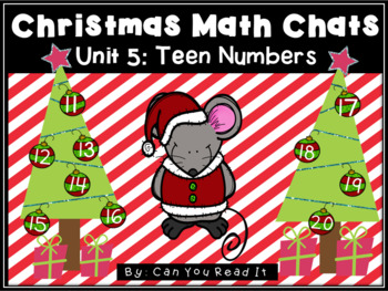 Christmas Math Chats: Unit 5 Teen Numbers