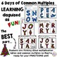 Christmas Math Coloring - Common Multiples Practice that's FUN!