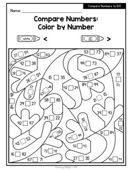 Christmas Math: Color by Number with Addition, Subtraction ...