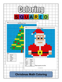 Holiday: Christmas Math Coloring