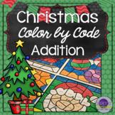 Christmas Math Coloring Sheets Addition