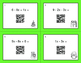 Christmas Math: Combining Like Terms QR Code Task Cards
