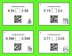 Christmas Math: Comparing Decimals QR Code Task Cards