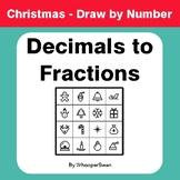 Christmas Math: Convert Decimals to Fractions - Math & Art