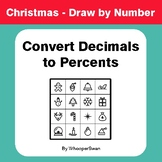 Christmas Math: Convert Decimals to Percents - Math & Art