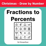 Christmas Math: Convert Fractions to Percents - Math & Art
