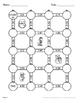 Christmas Math: Converting Percents to Decimals Maze