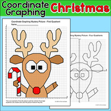 Christmas Math Coordinate Graphing Picture - Rudolph the Red Nose Reindeer