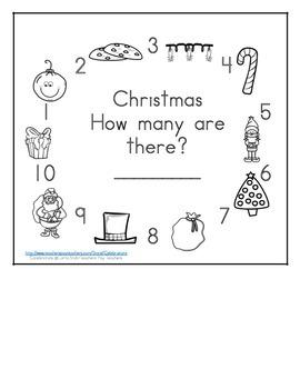 Christmas Math Counting Books