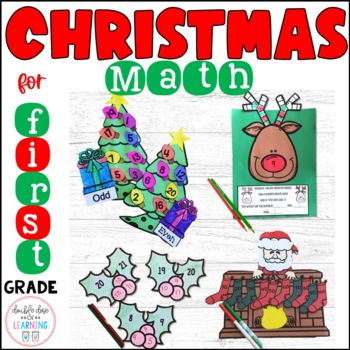 Christmas Math Craftivities for First Grade {Counting By,