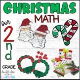 Christmas Math Craftivities for SECOND Grade {Time, Money,