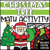 Christmas Math Craftivity - Decorate a Christmas Tree