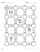 Christmas Math: Decimals to Fractions Maze