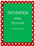 Christmas Math    Differentiated Activities Included