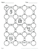 Christmas Math: Dividing Integers Maze