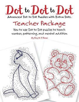 Free Teacher Package Dot to Dot Skip Count by 1, 2, 3, 4, 5, 6, 7, 8, 9, 10