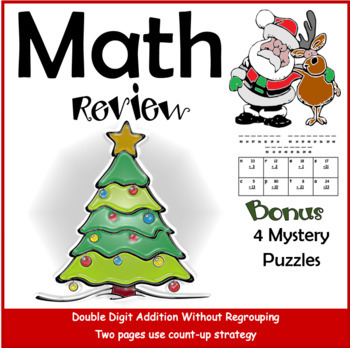 Math Double Digit   Mystery Puzzles