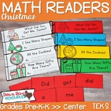 Christmas Math Emergent Readers {TEKS} | Sight Word Practi