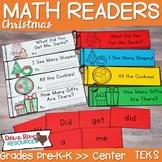 Christmas Math Emergent Readers {TEKS} | Sight Word Practi