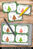 Equivalent Fractions Task Cards Christmas Math Activities 3rd Grade Math Centers